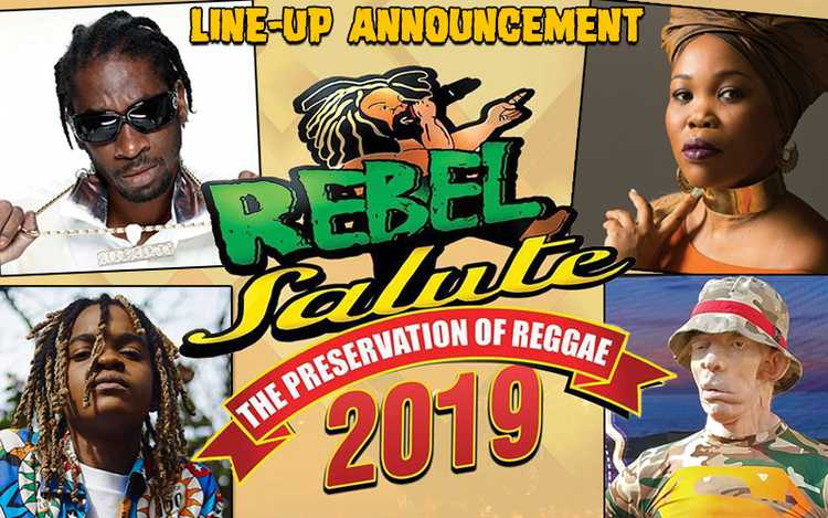 REBEL SALUTE 2019 – ARTISTS LINE-UP ANNOUNCEMENT