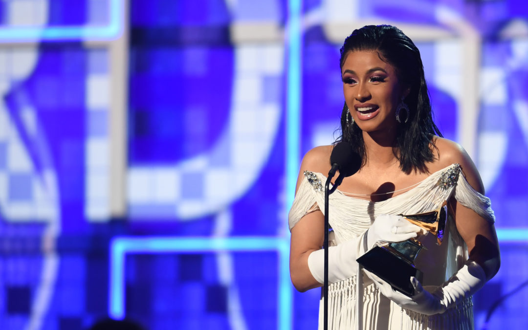 Cardi B Becomes First Female Solo Artist To Win Best Rap Album At The 2019 Grammys!